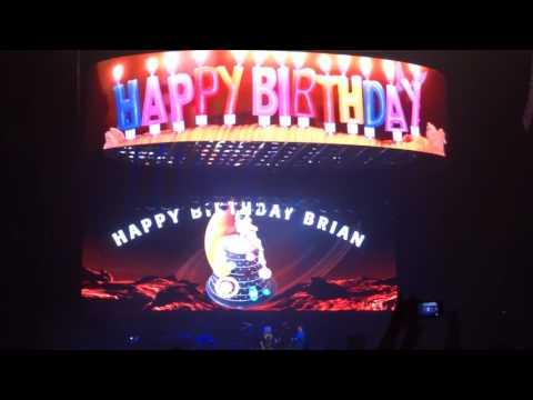 Queen & Adam Lambert - Happy Birthday Brian @ Toronto 18/07/2017