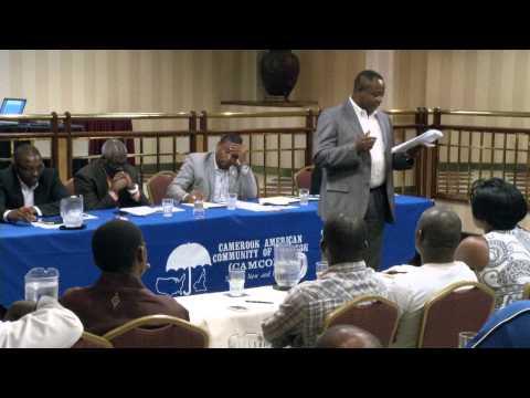 CAMCOH   Immigration forum , Visa  Status - Kevin Patcha