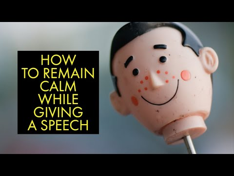 Secrets To Assist With Remaining Calm While Speaking