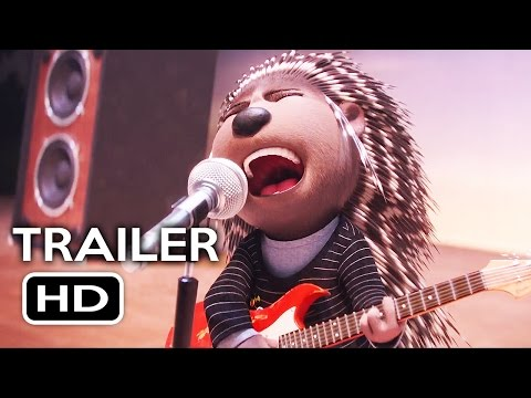 Sing Official Trailer #1 (2016) Matthew McConaughey, Scarlett Johansson Animated Movie HD