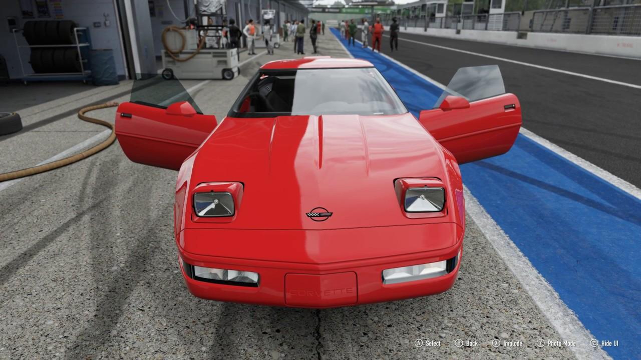 Forza Motorsport 7 1995 Chevrolet Corvette Zr 1 Car