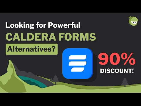 Caldera Forms Alternatives you were Looking For - 90% Discount on WP Fluent Forms