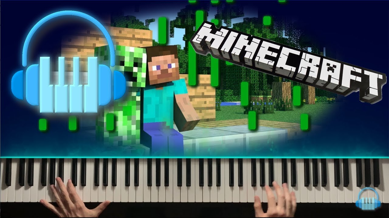 Subwoofer Lullaby, Minecraft - Piano Visualized