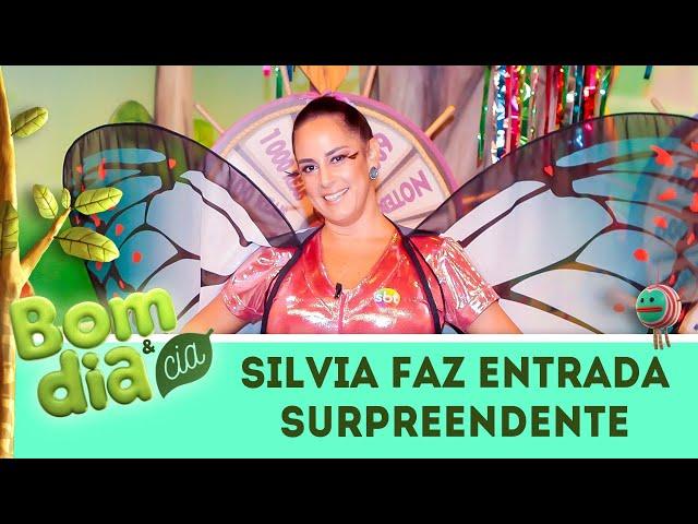 Silvia Abravanel voa no Bom Dia & Cia! Veja a entrada surpreendente | Bom Dia & Cia (04/03/19)