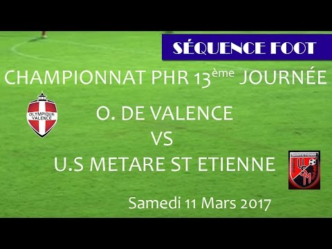Séquence Foot PHR OV vs US METARE SE - 11.03.2017