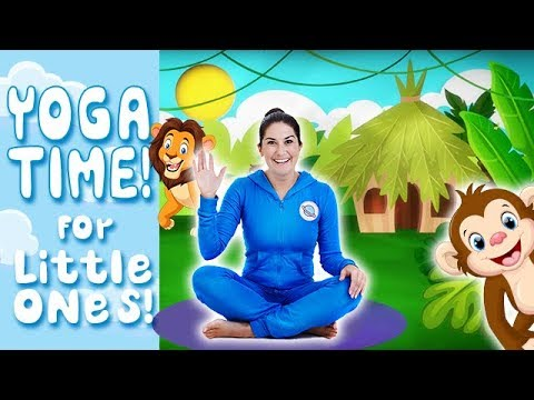 Yoga Time! | Jungle Safari - Kids Yoga And Nursery Rhymes