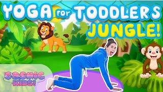 Yoga Time! | Jungle Safari - Kids Yoga and Nursery Rhymes