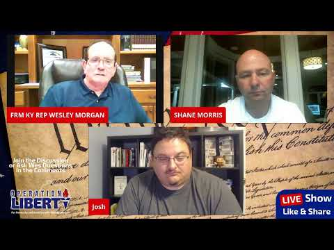 Operation Liberty Episode 1 with Wesley Morgan & Guest Shane Morris