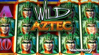 WILD AZTEC SLOT - *Big Win* - Slot Machine Bonus