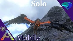 SOLO GRIFFIN TAMING WITH A TRAP! EASIEST TAME EVER! Solo ARK: Mobile