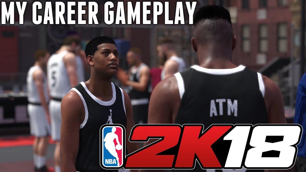 NBA 2K18 - My Career Playthrough! PS4 Pro 4K Gameplay - YouTube e0d55cea70f