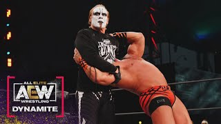 MUST WATCH Sting is Back and Ready to go to War! | AEW Dynamite