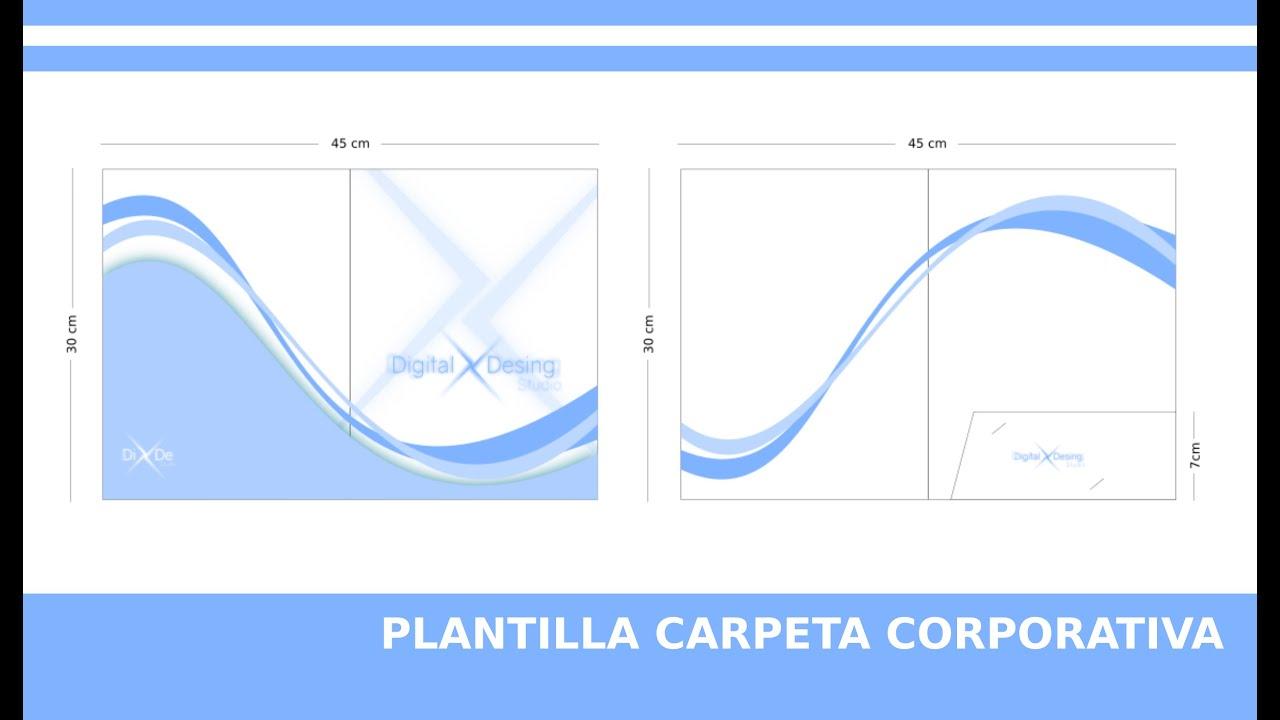 Encantador Plantilla De Carpeta Photoshop Ornamento - Colección De ...