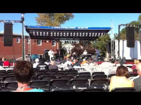 Joe Baker Band opening act 2010 Black Swamp Arts Festival