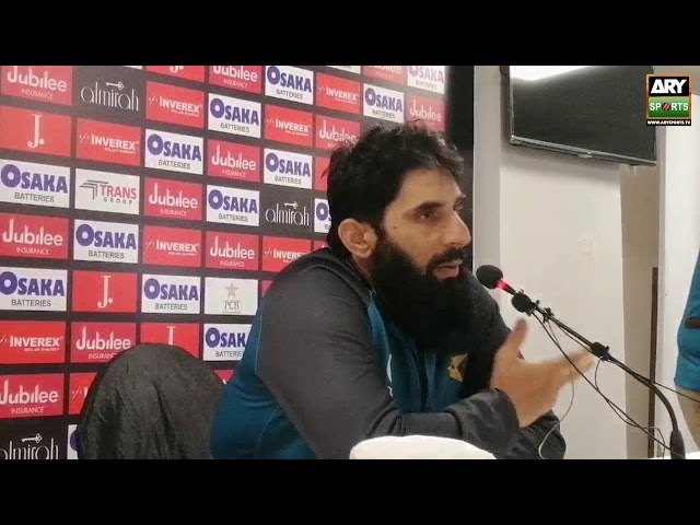 The only pressure in life is death-Misbah