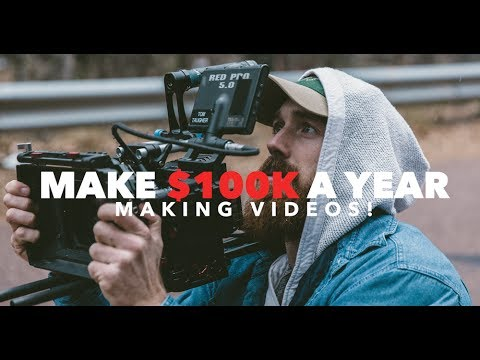 How To Make $100K A Year Making Videos!!