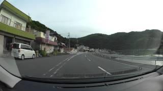 岡山県道26号津山柵原線、R373 - R53  車載動画 HX-A500