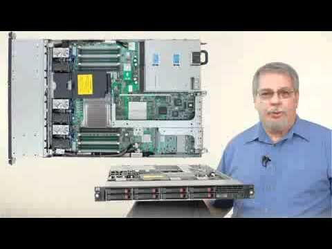 HP ProLiant DL360 G7 - YouTube