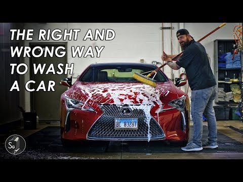 The Right And Wrong Way To Do A Car Wash