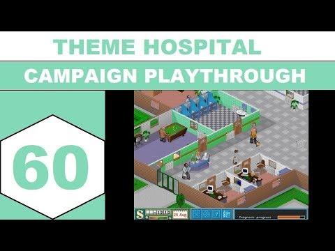 Let's Play Theme Hospital (1997) - Campaign Playthrough - Episode 60