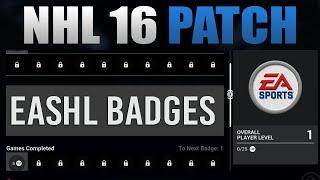 NHL 16 PATCH - Player Badges, Prestige, Shootout & Drop-in