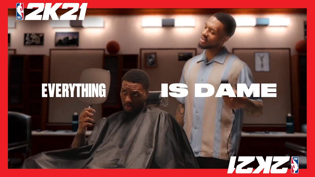 PS4 I NBA 2K21: 모든 것이 데임이다 (현세대 표지 모델 공개)