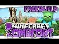 ZOMBFORT - Minecraft 1.12 Freebuild Server ► Servervorstellung & Trailer