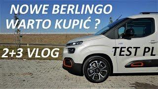 2+3 VLOG #1 NOWE BERLINGO Citroen dla rodziny TEST PL
