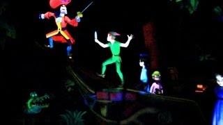 [HD] - Peter Pan s Flight Ride Extreme Clarity POV at Disneyland Resort.