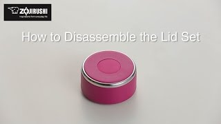 Learn how to disassemble the lid set of Zojirushi Stainless Mug SM-...