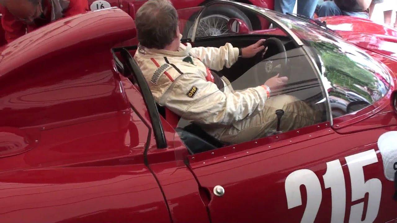 1966 Alfa Romeo Tipo 33 Periscopia Engine Revving Goodwood 2010
