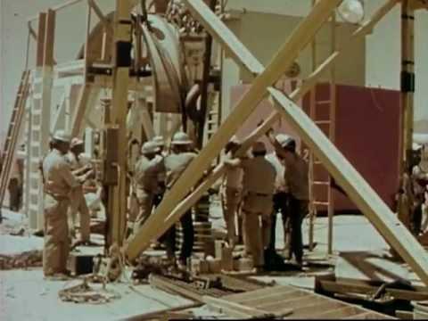 """Operation Plowshare - Atoms for Peace"" AEC Propaganda Film 1961"