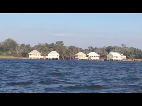 New Fontainebleau State Park Cabins on Lake Pontchartrain