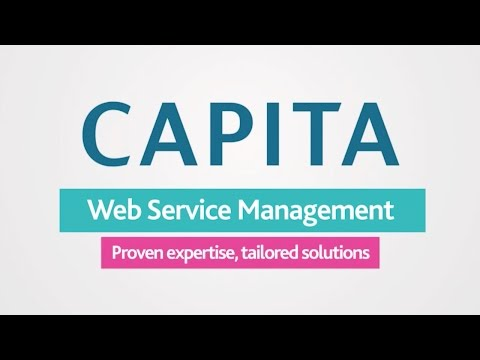 Capita Web Service Management