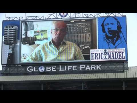 Eric Nadel's Hall of Fame ceremony at Globe Life Park