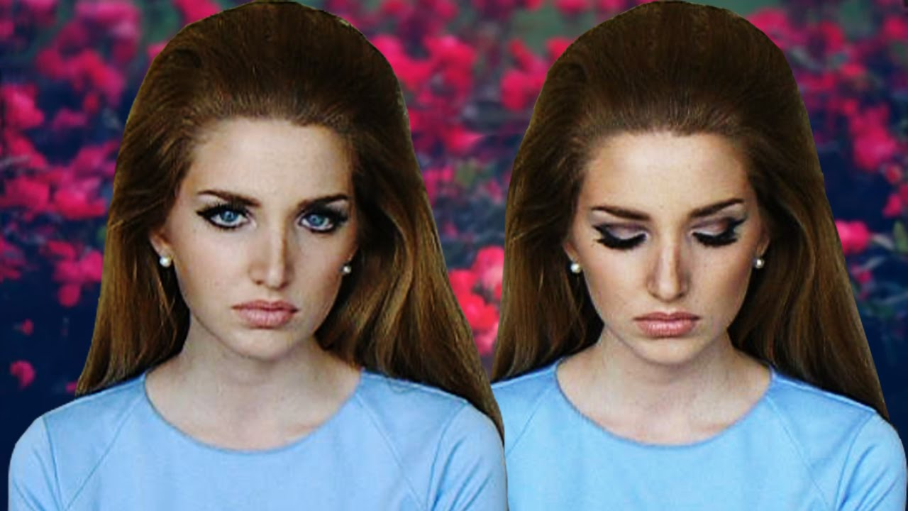 Lana Del Rey National Anthem Makeup Tutorial