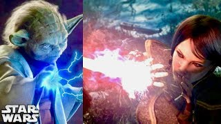 How Jedi Blocked Force Lightning, Lightsabers and Blaster Bolts With Their BARE HANDS