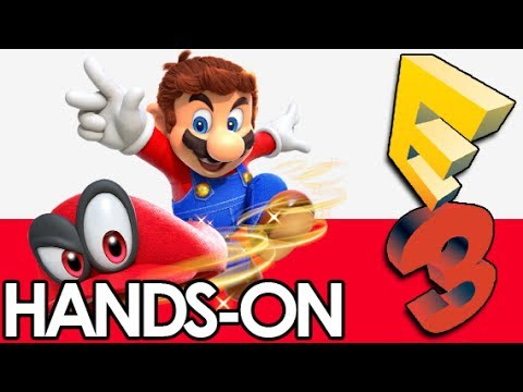 NEW DONK CITY Hands-On!│ Super Mario Odyssey E3 #1 │ ProJared Plays