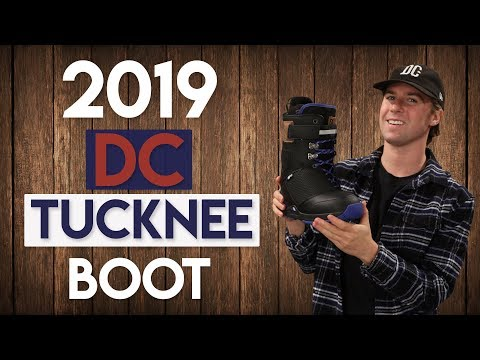 2019 DC Tucknee Snowboard Boots Review