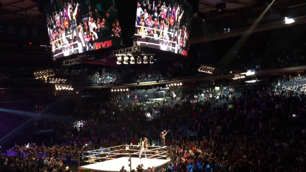 Wwe Live Msg March 25 2016 Live Reaction Youtube