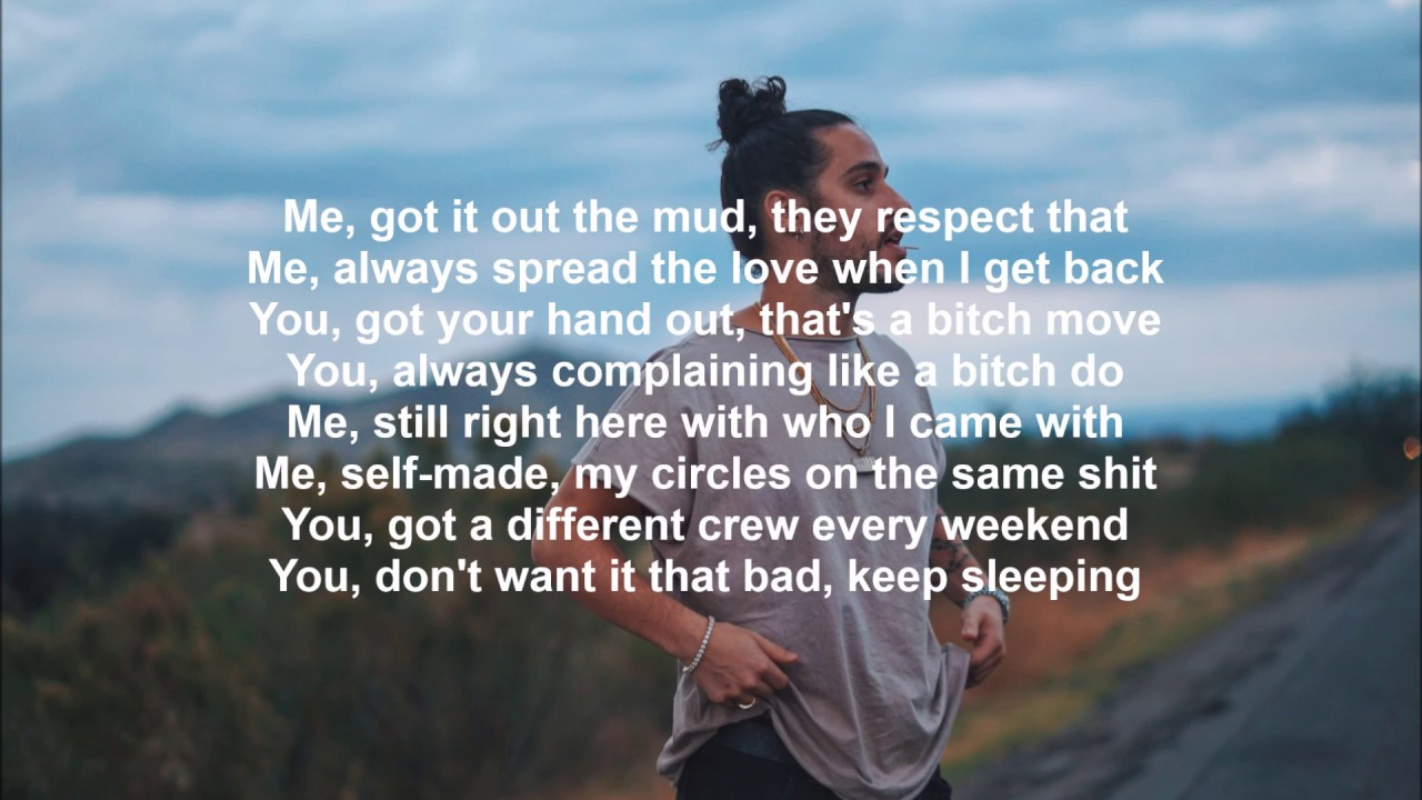 Russ - Me You Lyrics - YouTube
