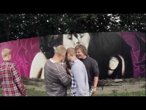 The Roskilde Festival Graffiti project