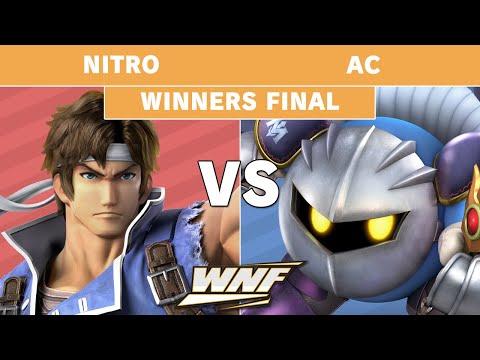 WNF 2.3 - Nitro (Richter) Vs. AC (Meta Knight) Winners Finals - Smash Ultimate