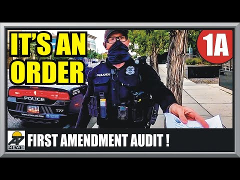 HOW NOT TO GET BLINDSIDED BY AN OFFICER - Albuquerque, NM - First Amendment Audit - Amagansett Press
