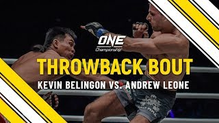 Kevin Belingon vs. Andrew Leone | ONE Full Fight | Throwback Bout