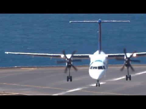 GIGANTIC Pilot Dash Q400 Sata Crosswind G35KTS    Madeira