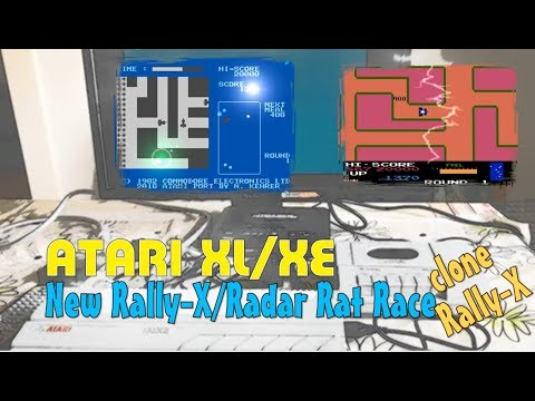 Atari XL/XE -=New Rally-X & Radar Rat Race=-