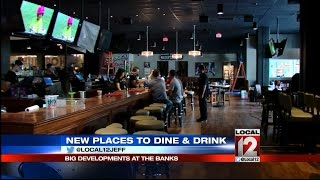 New places to drink & dine at The Banks
