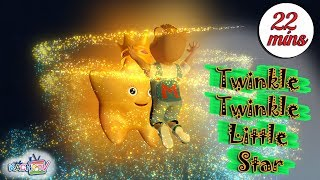 Twinkle Twinkle Little Star | + More Children Rhymes - Cartoons for Kids
