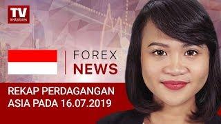 InstaForex tv news: 16.07.2019: USD Berupaya untuk kembali naik (USDХ, AUD, JPY)